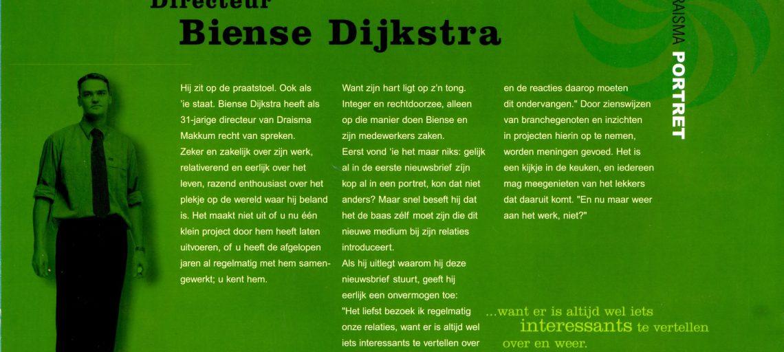 Portret Biense Dijkstra