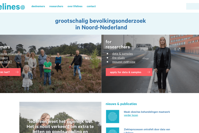 Lifelines, tekst website