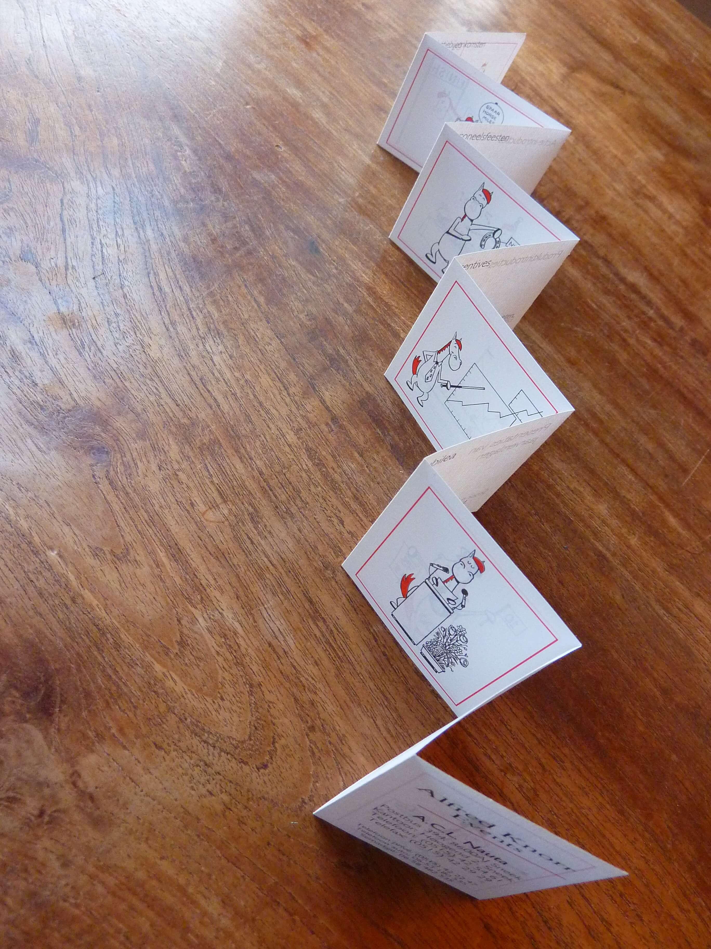 Wereldrecord: langste visitekaartje