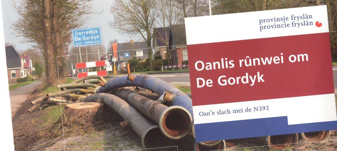 Nieuwsbrief aanleg rondweg Gorredijk