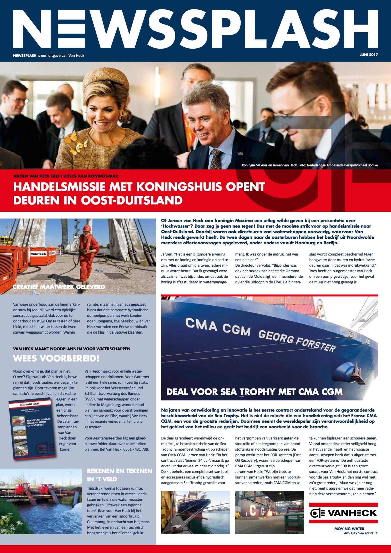 Een Zaak Van Communicatie - Jeroen Tollenaar, Van Heck - NewsSplash 2017 NL voorkant