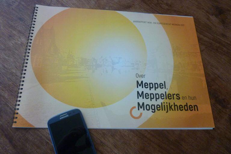 Jaarrapport wijk- en dorpsgericht werken gemeente Meppel 2017, Een Zaak Van Communicatie