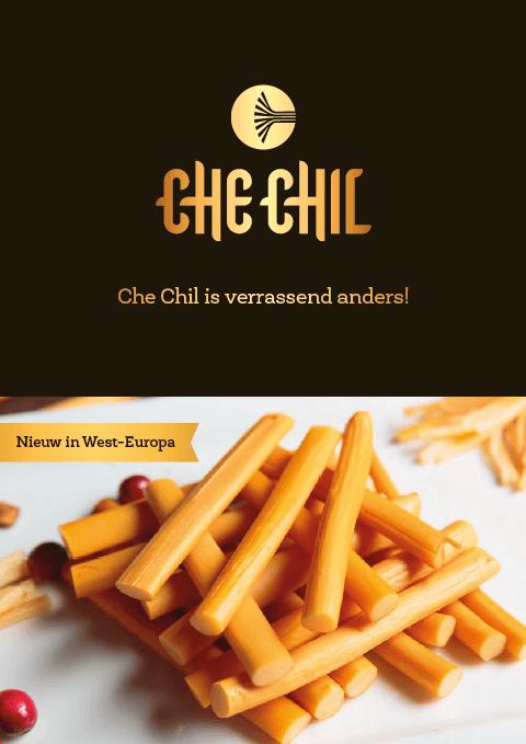 Een Zaak Van Communicatie, Che Chil brochure voorkant