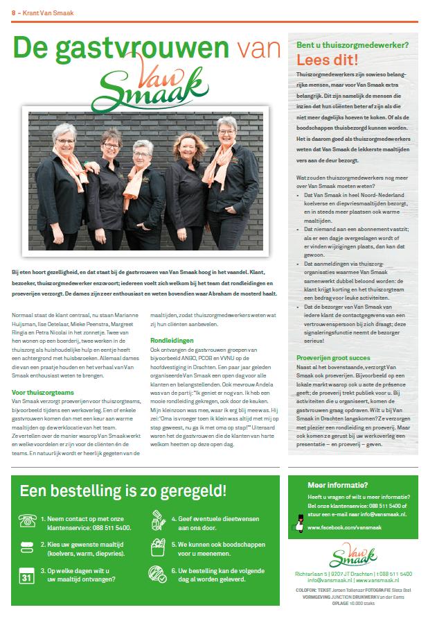 EZVC - Krant Van Smaak 2018 - achterpagina