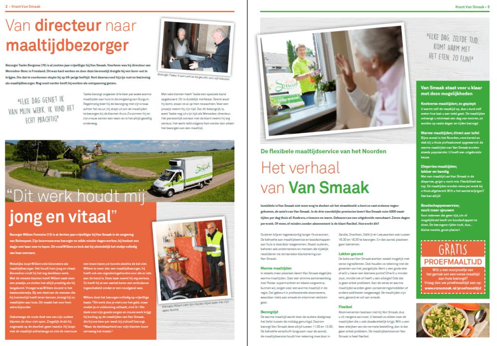 EZVC - Krant Van Smaak 2018 - spread 1