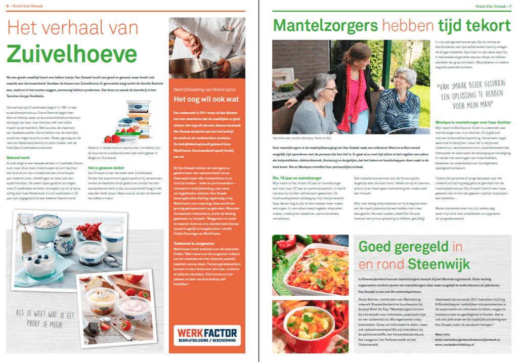 EZVC - Krant Van Smaak 2018 - spread 3