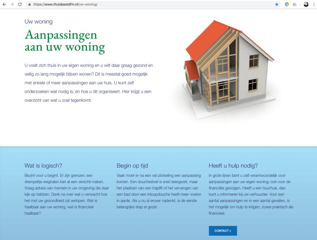 Een Zaak Van Communicatie - De Fryske Marren, website Thuis best - pagina 2
