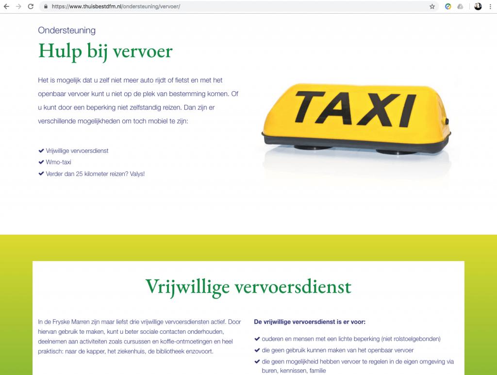 Een Zaak Van Communicatie - De Fryske Marren, website Thuis best - pagina 4