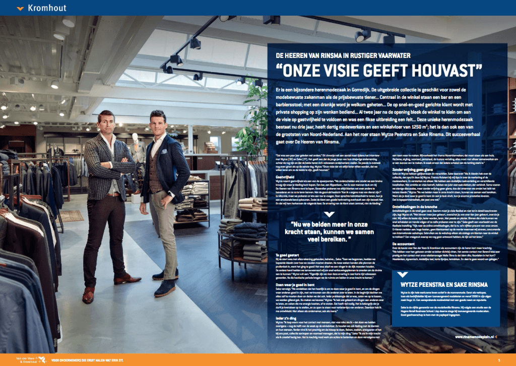 Een Zaak Van Communicatie - Kromhout dec 2018 - De Heeren Van Rinsma