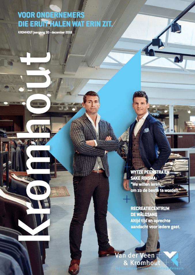 Een Zaak Van Communicatie - Kromhout dec 2018 - cover